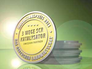 DLG-Innovationspreis 3-Wege-SCR-Katalysator
