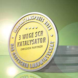 DLG-Innovationspreis 3-Wege-SCR-Katalysator