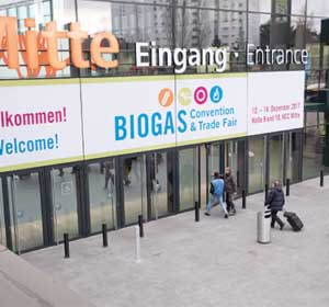 Biogas Convention Eingang