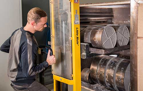 Produktion von Katalysatoren
