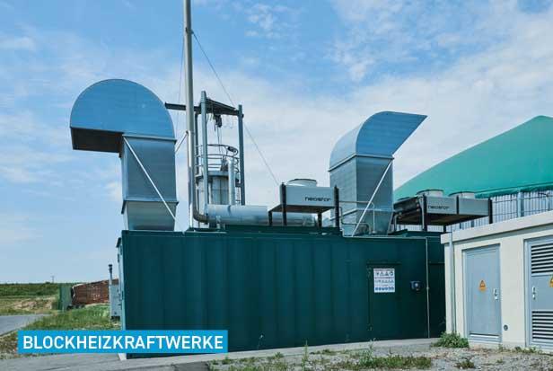 Blockheizkraftwerk Katalysatoren