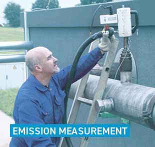 Emission measurement