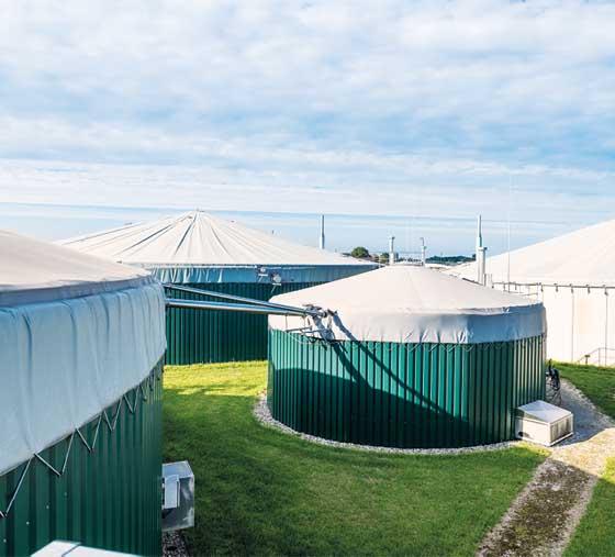Biogasanlage von Bioenergie GmbH Straelen