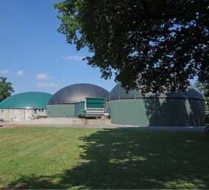 Idylle in Heek - Eine Vorzeigebiogasanlage