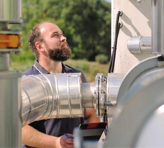 Kontrolle Rigo Biogas GmbH